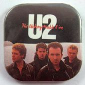 U2 - 'The Unforgettable Fire' Square Badge